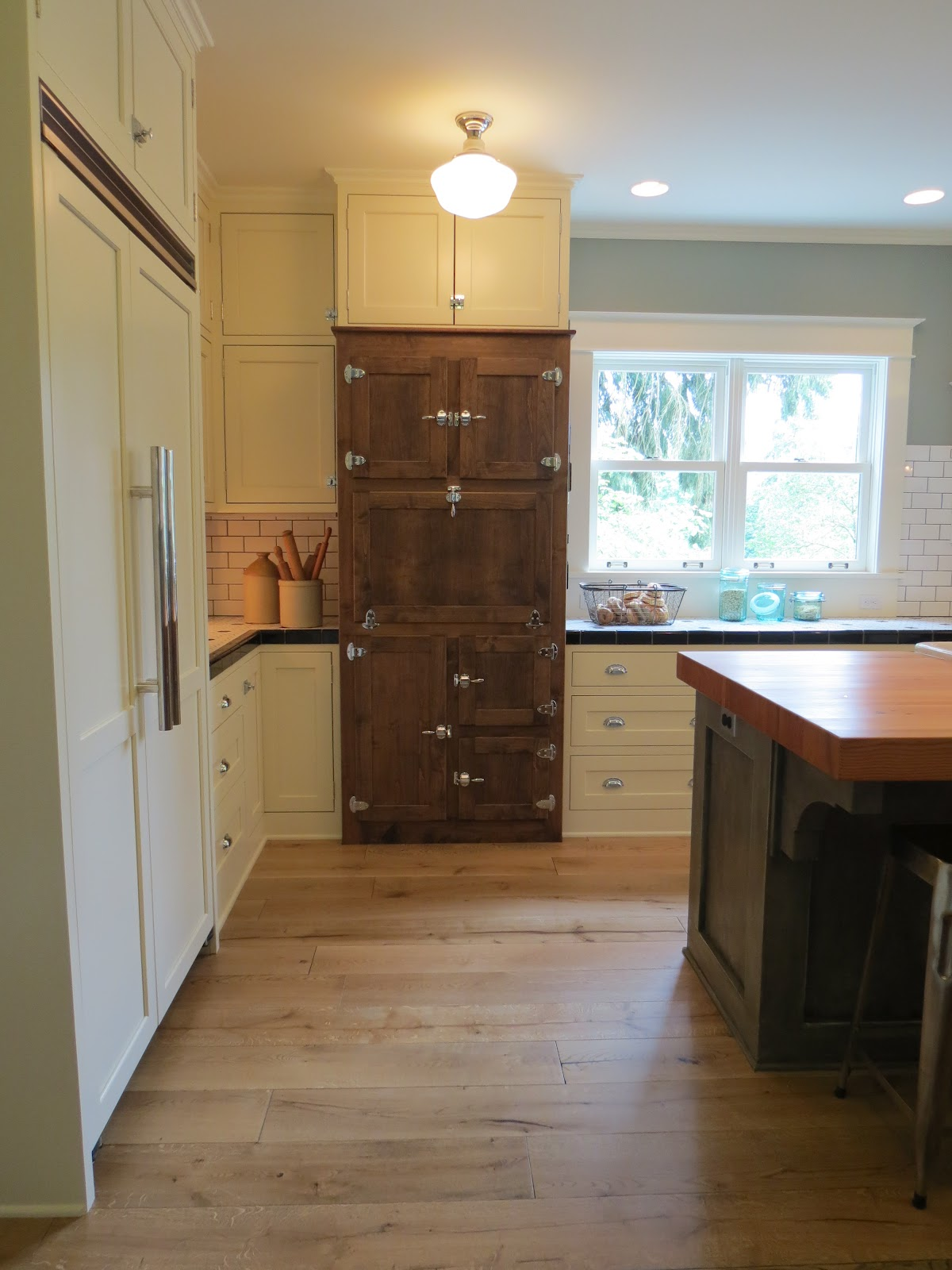 Remodeled Kitchen, Island Salvaged Wood | Shannon\'s Blog