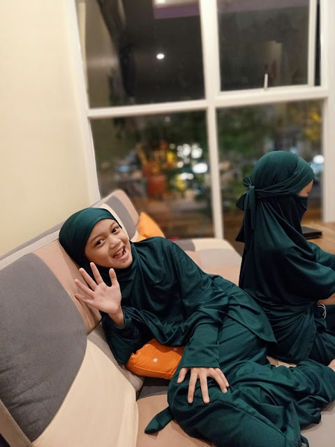 Gamis Syar'i anak perempuan dan anak laki-laki : Bajuyuli
