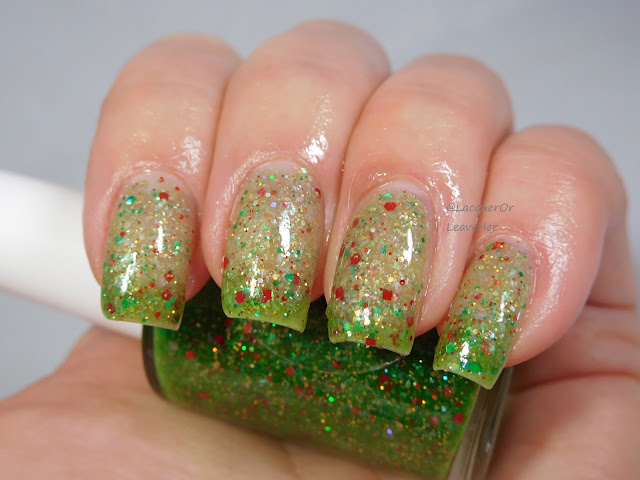 Shinespark Polish O Christmas Tree when changing