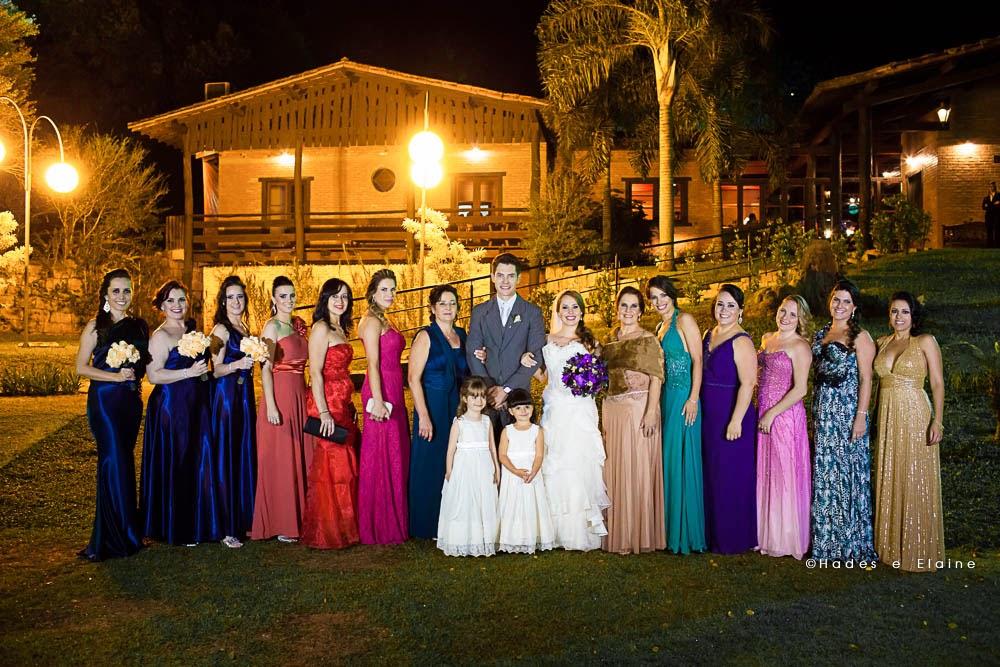 foto posada - madrinhas - foto com as madrinhas