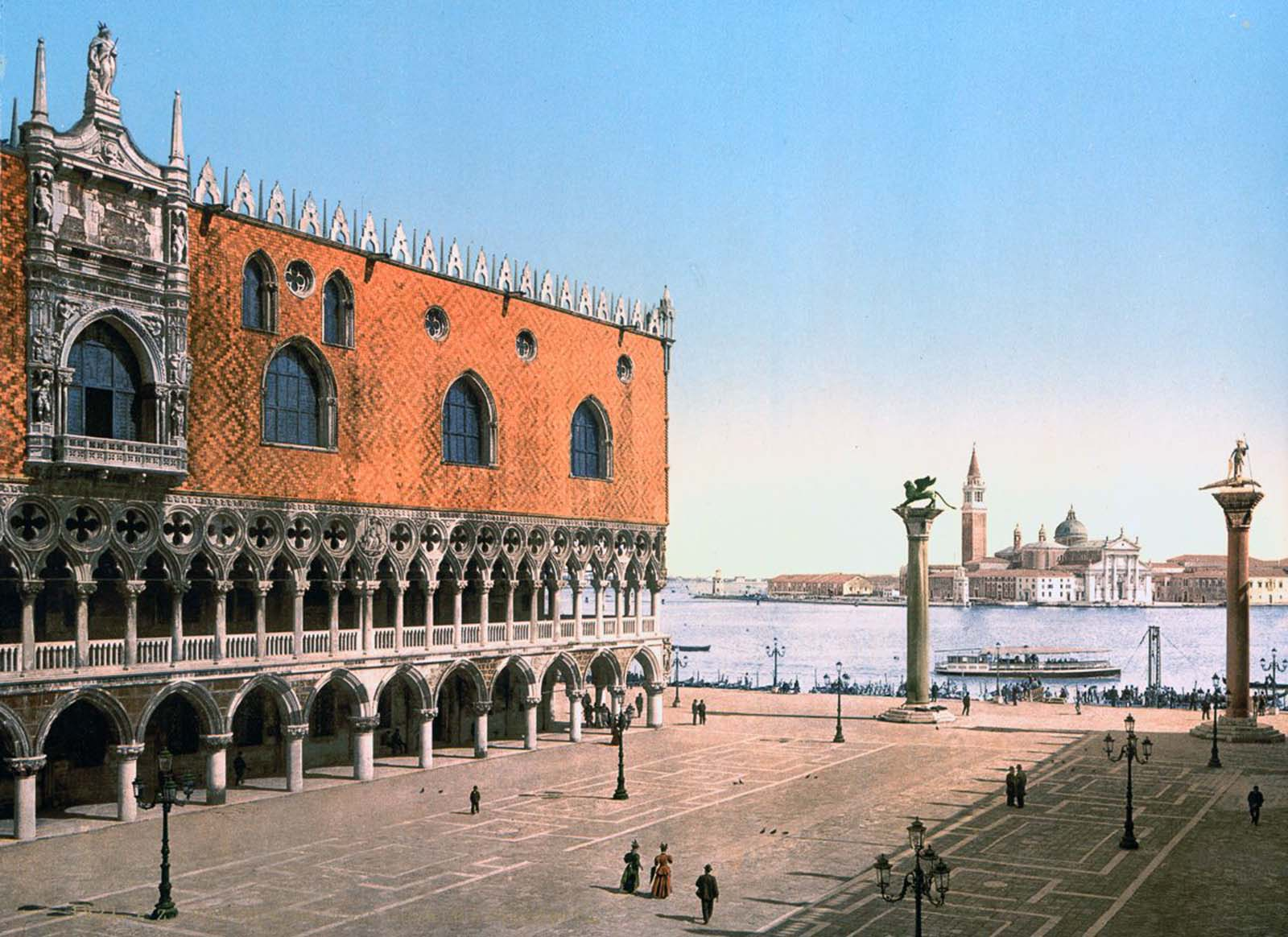 Doges' Palace and the Piazzetta.