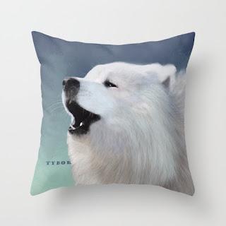tybor-howling-samoyed-pillows