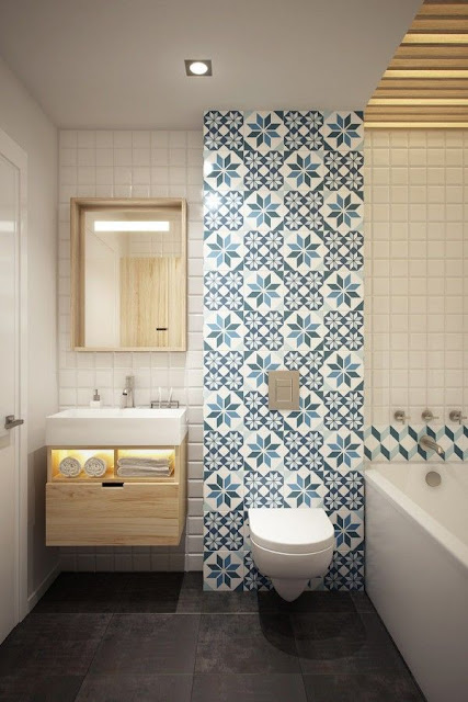 Tile Design In Bathroom
