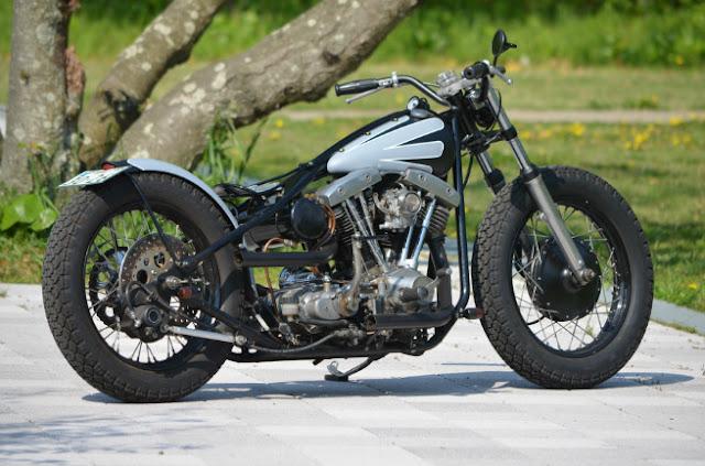 Harley Davidson Shovelhead By Moto Garage Life Hell Kustom