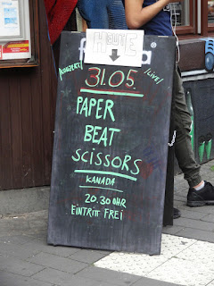 31.05.2017 Köln - Weltempfänger: Paper Beat Scissors