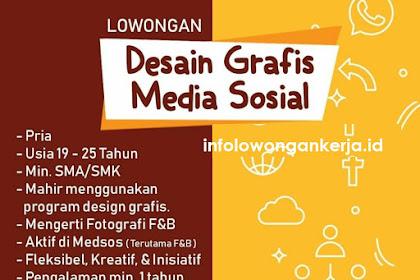 Info Lowongan Desain Grafis Malam Minggu Tangerang