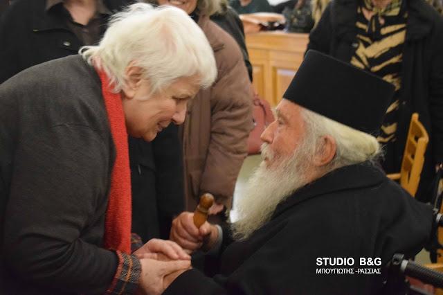 """Παρουσιάστηκε στην Αθήνα το νέο βιβλίο του Γέροντα Γαβριήλ Κοβιλιάτη """"Κοίταξέ με στα μάτια! Μου λες την αλήθεια;''"""