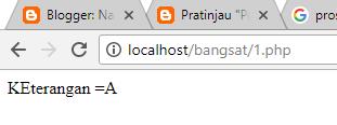 Proses Percabangan PHP