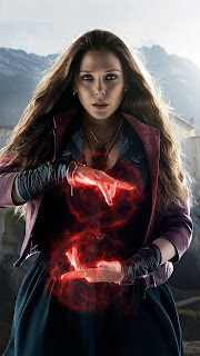 Scarlet Witch Girl Mobile HD Wallpaper