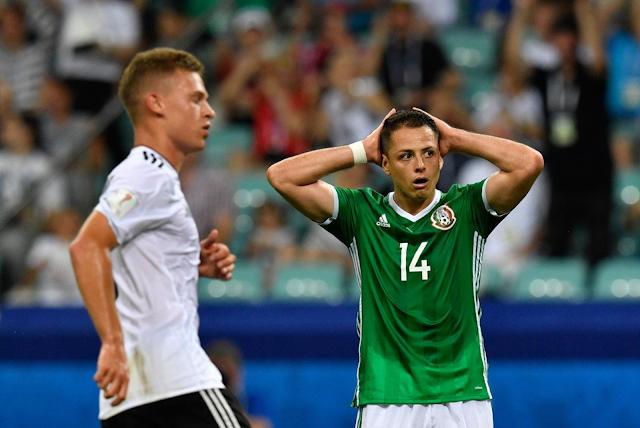 Alemania derrotó 4-1 a México