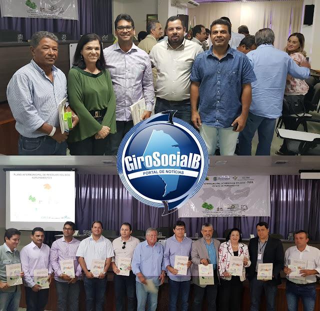 Preocupados com seus municípios,  prefeitos  da região, entre eles; Silvio Roque, Tupanatinga  e Adilson Timóteo, Inajá o participam de seminário direcionado ao meio ambiente