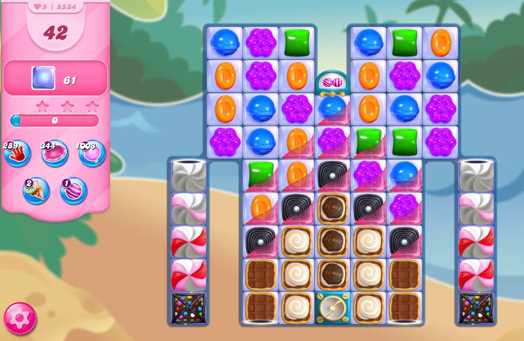 Candy Crush Saga level 8534