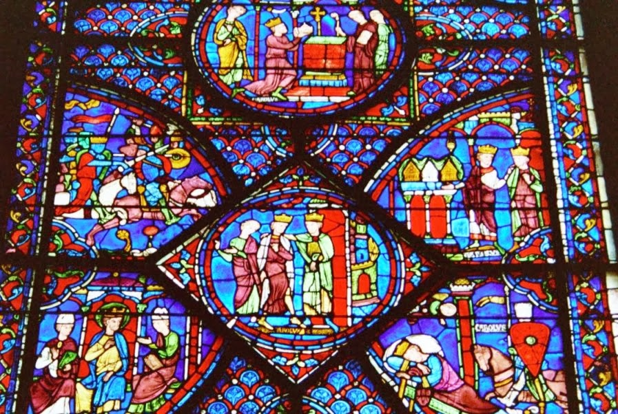 Catedral de Notre Dame Vidro