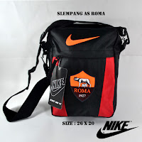 Jual Tas selempang distro bola AS Roma