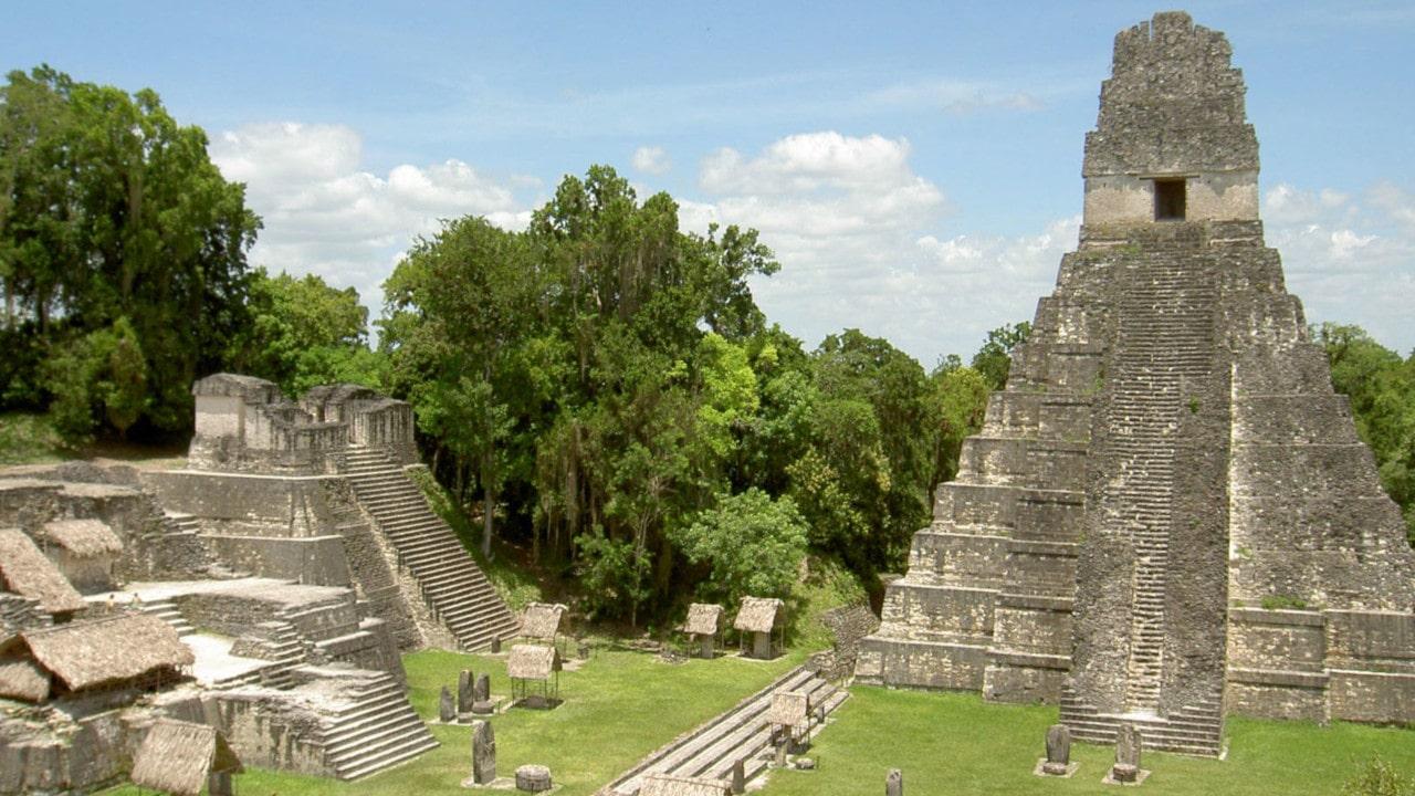 arquitectura maya en la península de yucatan