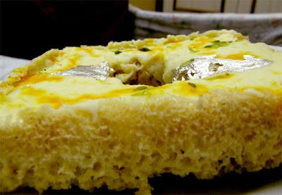 Halwai style Ghevar,Ghevar recipe step by step in hindi,Ghevar recipe Ingredient