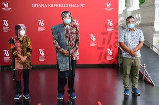 Presiden Jokowi Terima Aktivis Lingkungan Togu Simorangkir di Istana