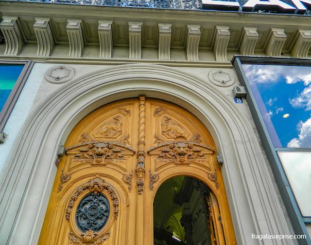 Fachada antiga em Paris