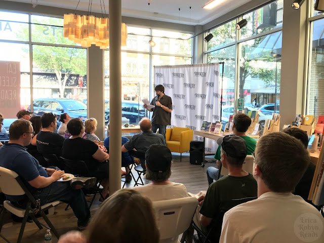 Meeting Joe Hill @ Bookery in Manchester, NH
