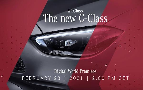 Novo Mercedes Classe C 2022