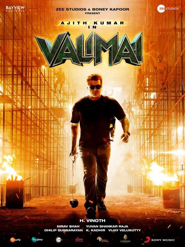 Valimai Movie Marks Ajith Kumar's Comeback After 2 Years