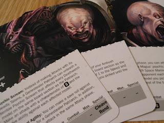 Deathwatch: Overkill enemy leader cards
