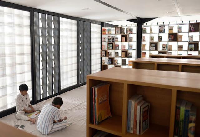 Bangunan Microlibrary untuk mengurangi angka buta huruf