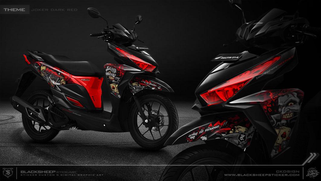 Honda Vario Joker Dark red