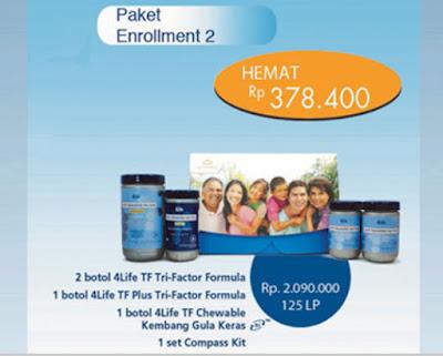 Paket Enrollment #2 4Life Transfer Factor
