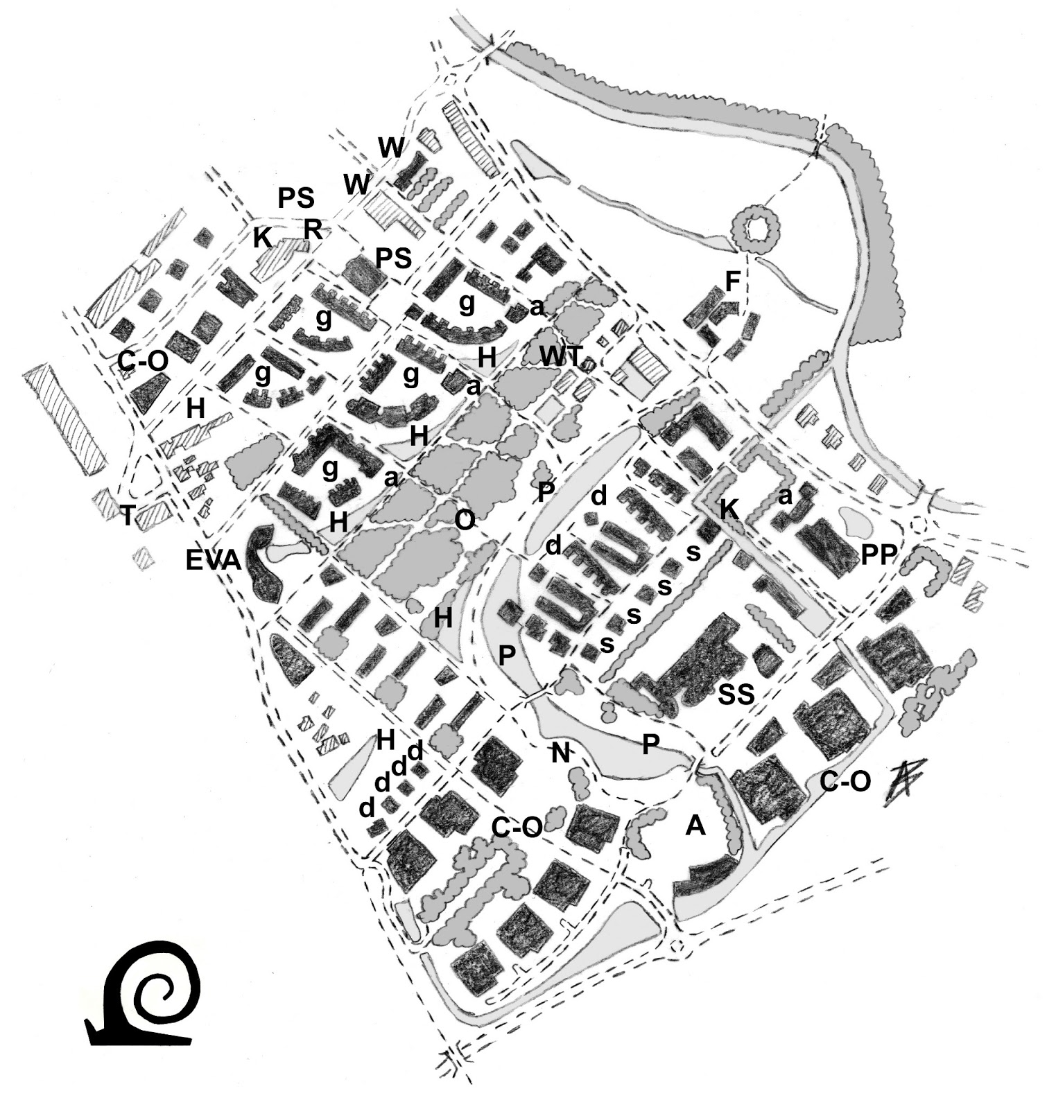 Snail in the City: Models homes: EVA-Lanxmeer, a