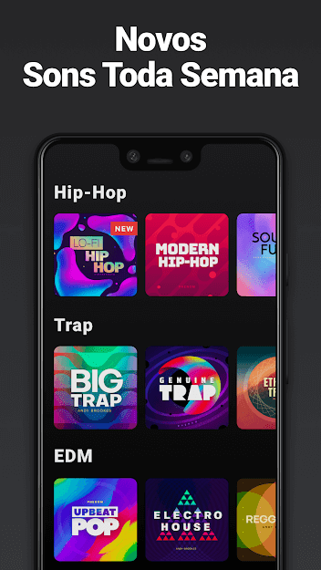 Groovepad - Música e Beats v 1.6.2 apk mod DESBLOQUEADO