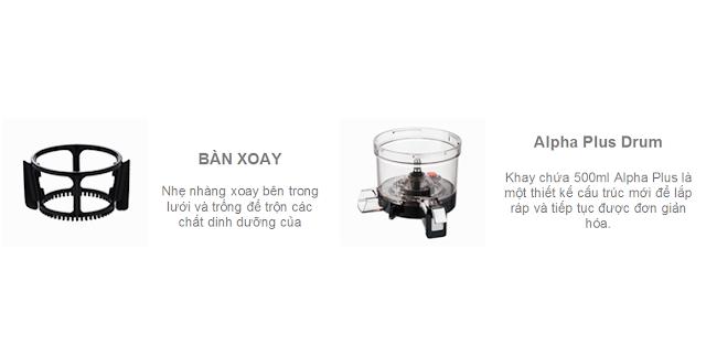 Máy lọc không khí -  HUROM BLOSSOM, bàn xoay mua tại lgvietnam.top