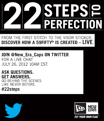 New Era Live Twitter Chat: Learn The 22 Steps to Create a 59FIFTY