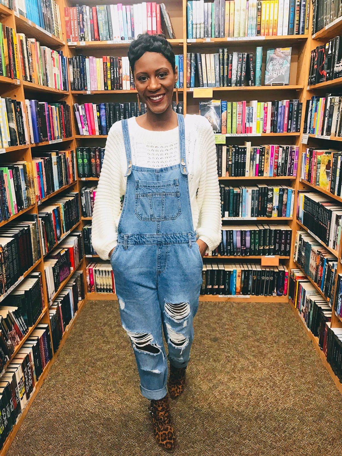 Quick OOTD: What I Wore To Go Bookstore Shopping This Weekend!