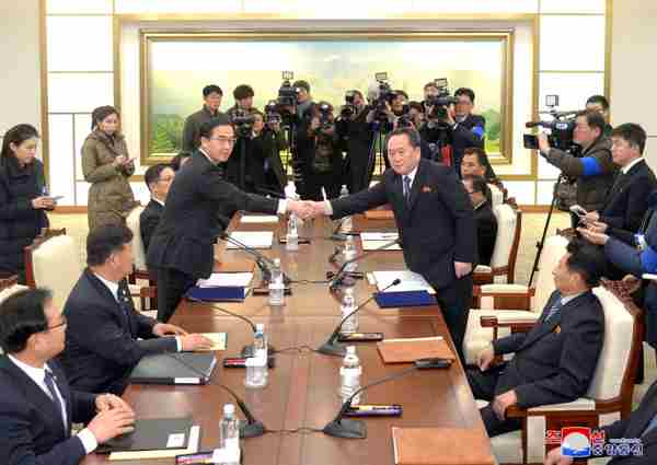 Inter-Korean high-level talks, January 9, 2018