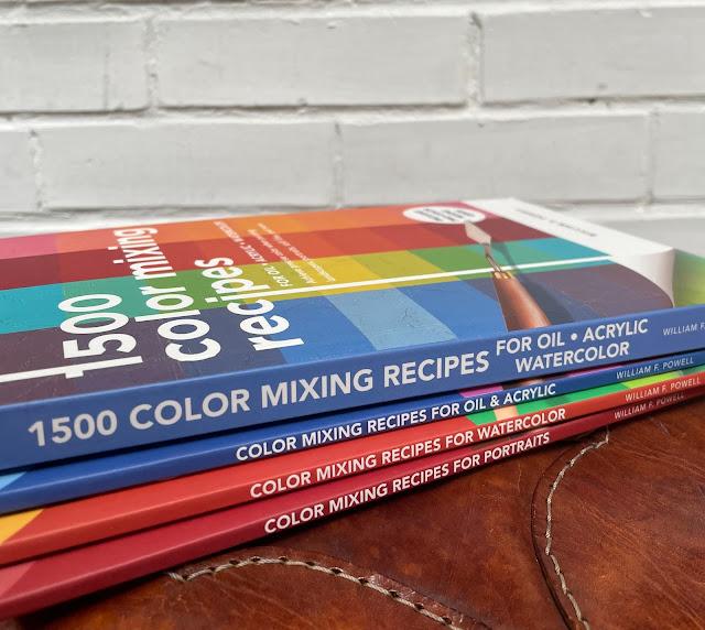 colour mixing books