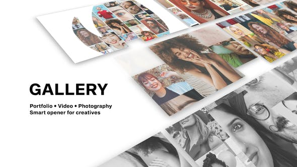Videohive - Gallery - Photo And Video Logo Reveal - 28314287