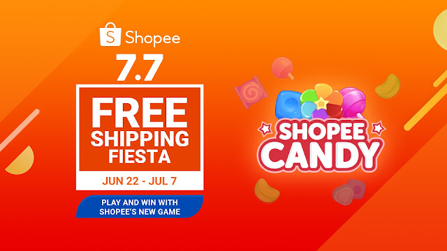 Swipe, Match, and Win: Play Shopee Candy and Win a Brand New Laptop and Smartphone at Shopee 7.7 Free Shipping Fiesta Sale