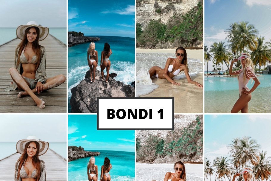 Mobile Lightroom Presets Bondi (DNG)