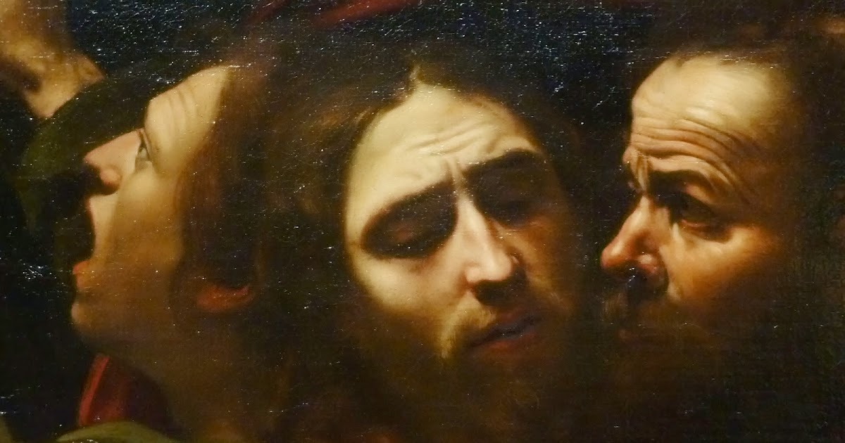 Photographis Caravaggio  The Taking Of Christ