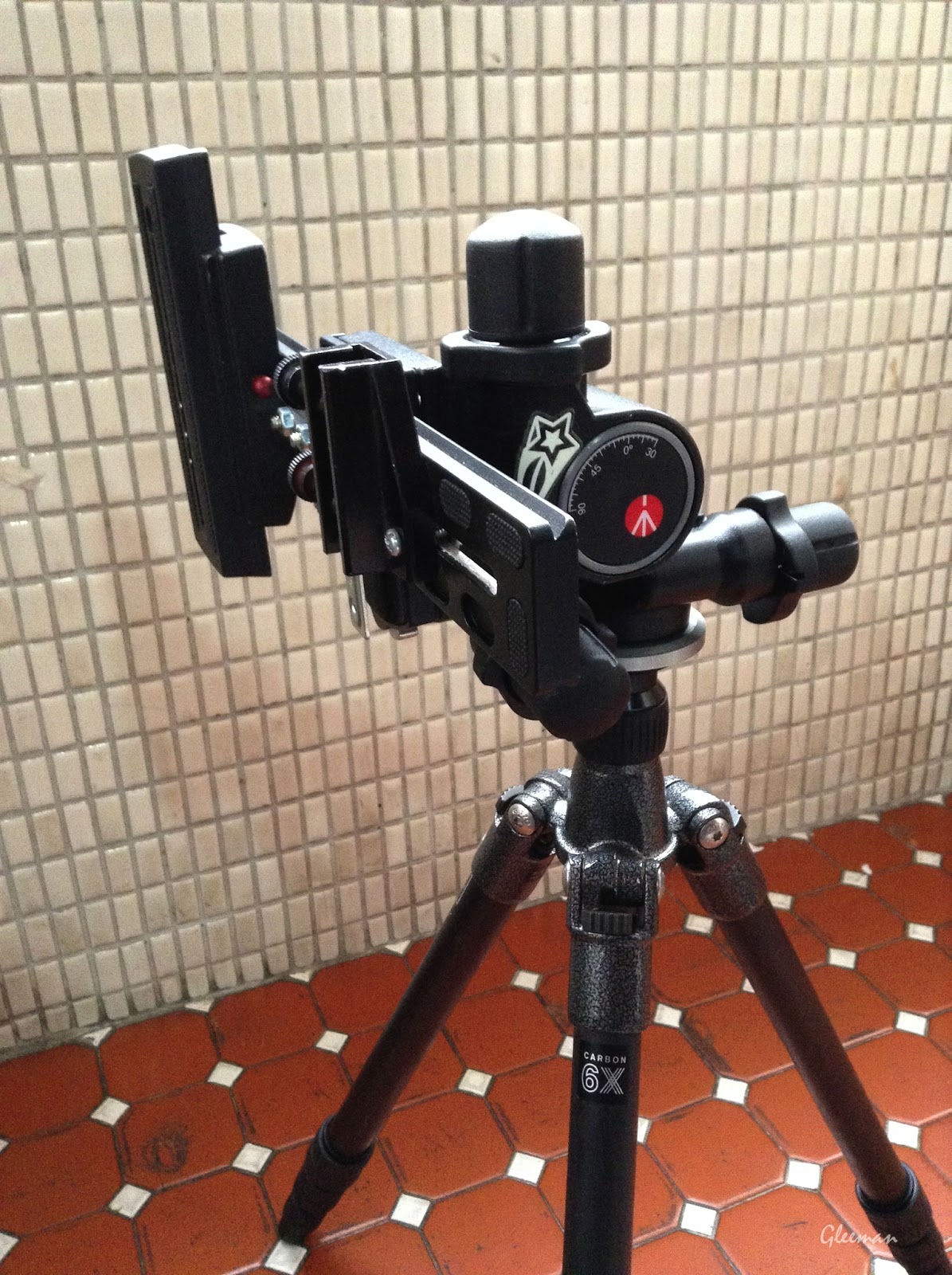 Pentax O-GPS1(How to) :Manfrotto 410