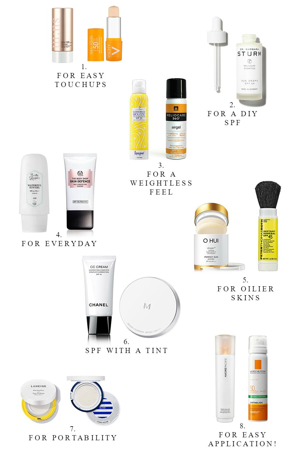 summer-2017-spf-sunscreen-edit-barely-there-beauty-blog-pinterest