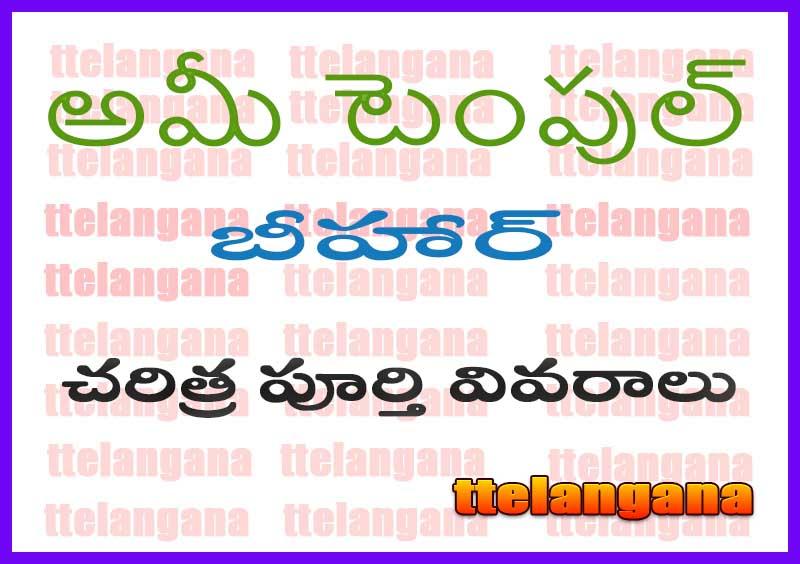 అమీ టెంపుల్ బీహార్ | మా అంబికా భవానీ చరిత్ర పూర్తి వివరాలు