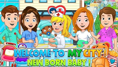 My City Newborn baby Apk for Android Download