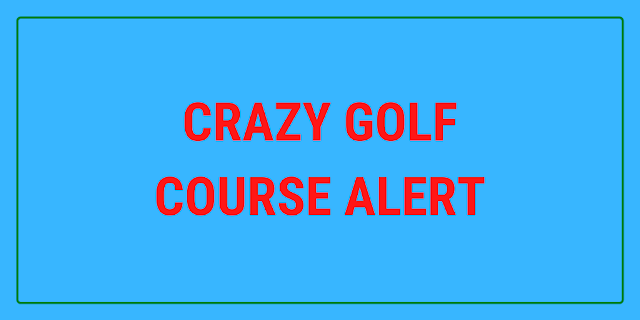A new 9-hole outdoor crazy golf course is now open at Scunthorpe Bowl