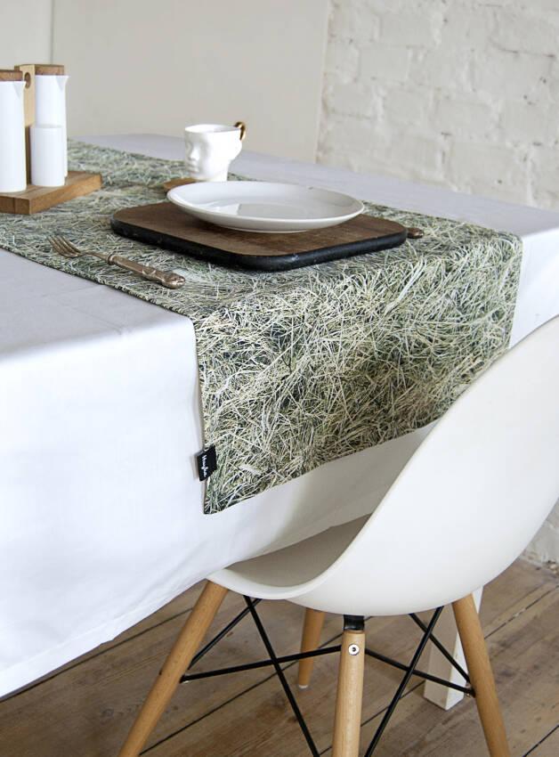Bieżniki na stół zielony
