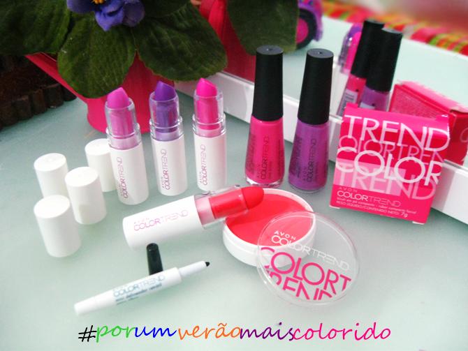 Coleção Avon Color Trend Por Um Verão Mais Colorido