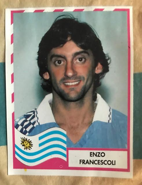Enzo Francescoli Album Navarrete Copa America '95