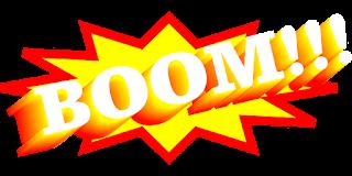 explosion boom onomatopeya