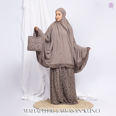 Mukena Mahaputri Lawasan Kuno Motif 05 - By Grosir Mukena Jogja - WA 083840666699
